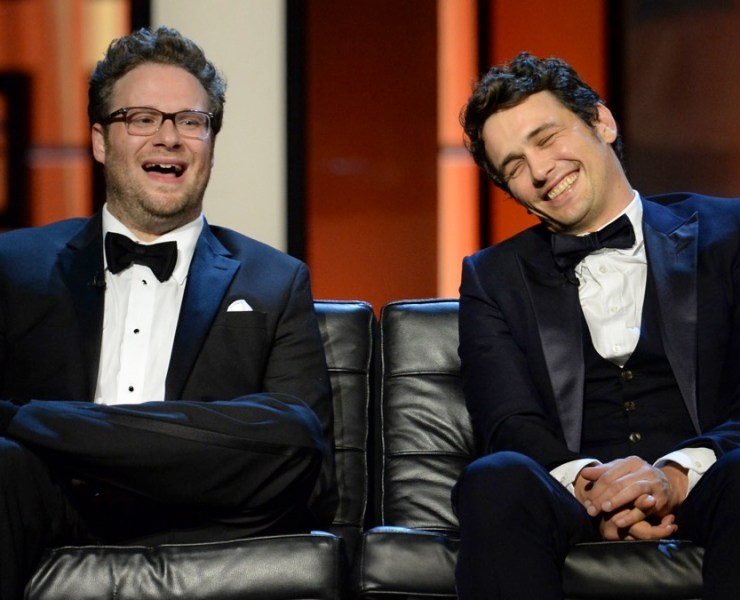 Seth Rogen and James Franco The Comedy Central Roast Of James Franco - Show