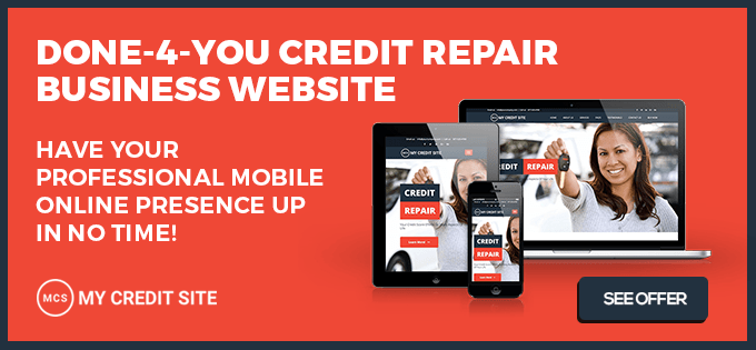 Credit Repair Company Exclusive Offer