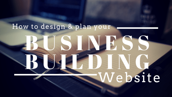 Design and plan website - socialize your biz