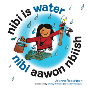 link to Powells bookstore for the book Nibi is Water