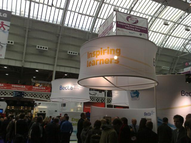 Image from the BETT show January 2010