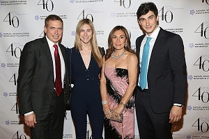 Kenneth Fishel, Melissa Fishel, Maria Fishel, Bradley Fishel ©Patrick McMullan