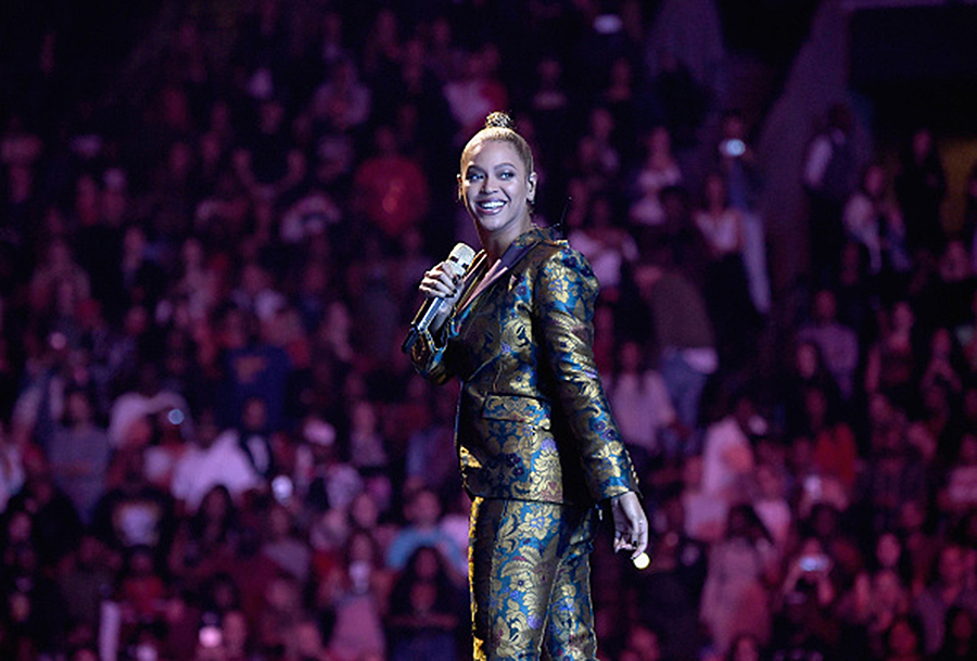 Beyonce performs onstage during TIDAL X ©Getty Images