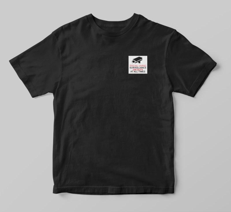 Social Surveillance Shirt Apparell