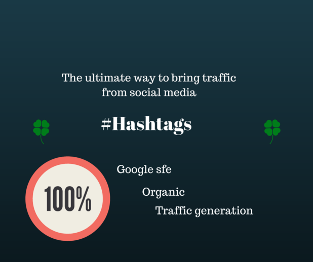 How to generate 500+ daily traffic from trending hashtags