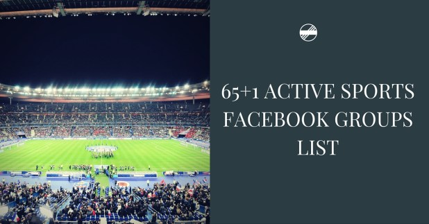 65+1 Active Sports Facebook groups List