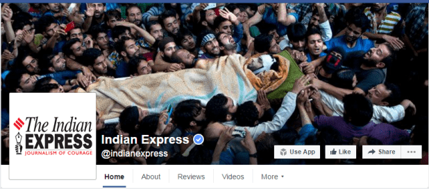 indian express burhan vani cover picture