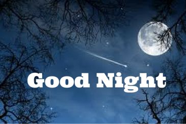 Cute Good Night Images With Moon Love For Facebook And