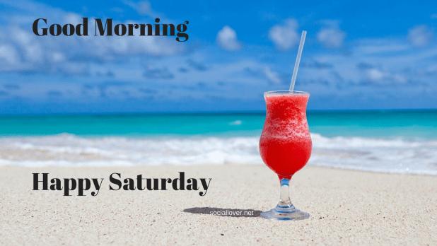 Saturday image of good morning