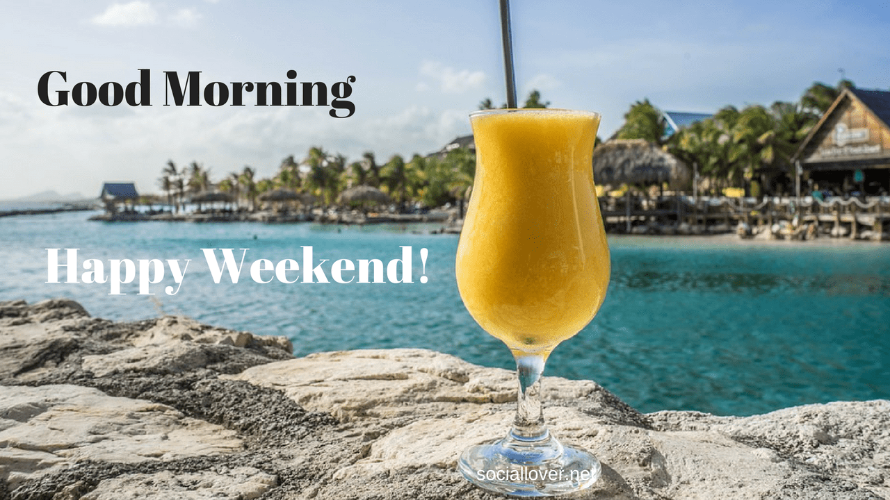 Happy Day, weekend, and Holiday Good Morning HD Images ...
