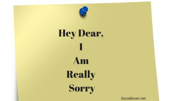 Sorry Image dear