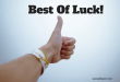 images of best of luck