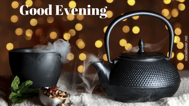 Good evening tea wallpaper
