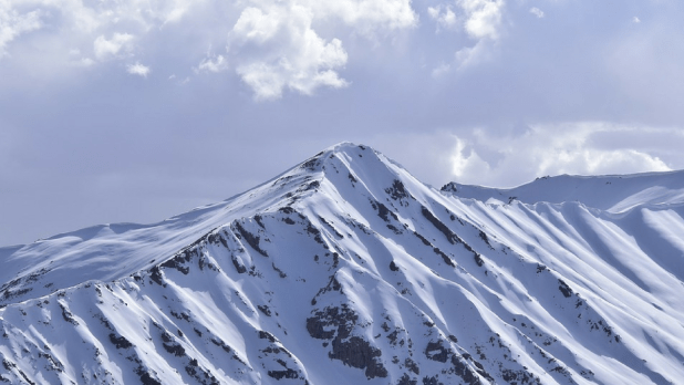 white snow winter images with mountains