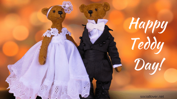 Happy teddy day couple image 2018