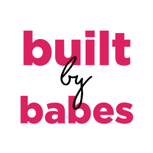 Built by Babes Logo Design bySocially Boutique Brand Agency