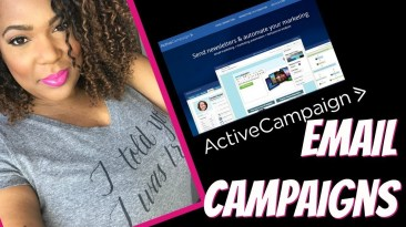 Infusionsoft Competitor Active Campaign: How to Create an Email Campaign Newsletter | Content Creator