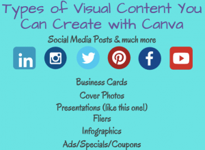 Types of Visual Content you can Create with Canva