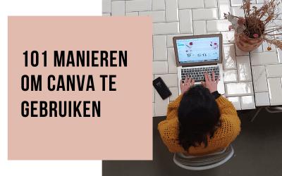101 manieren om Canva te gebruiken
