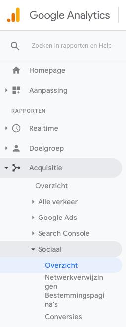 Pinterest Statistieken in Google Analytics