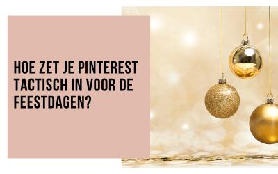 Pinterest strategie voor de feestdagen