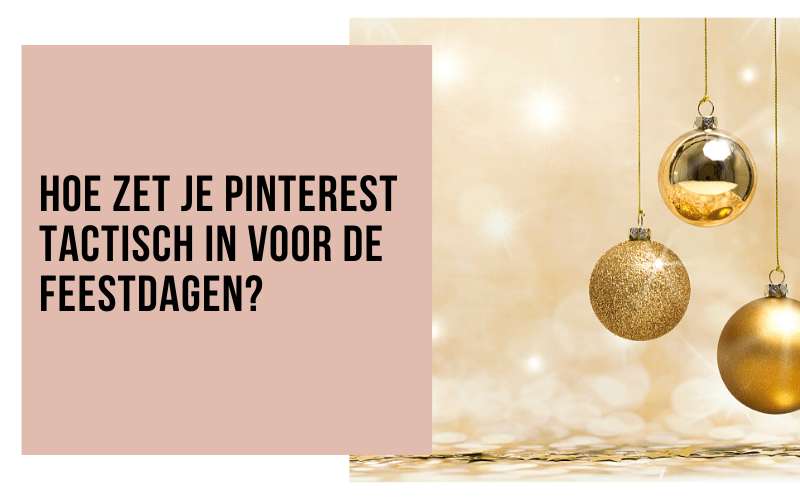 Pinterest strategie voor de feestdagen