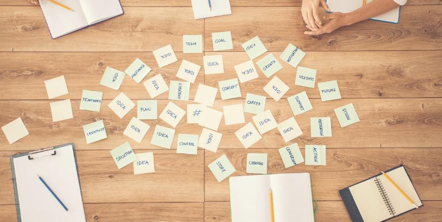hoe houd je een brainstorm voor je content