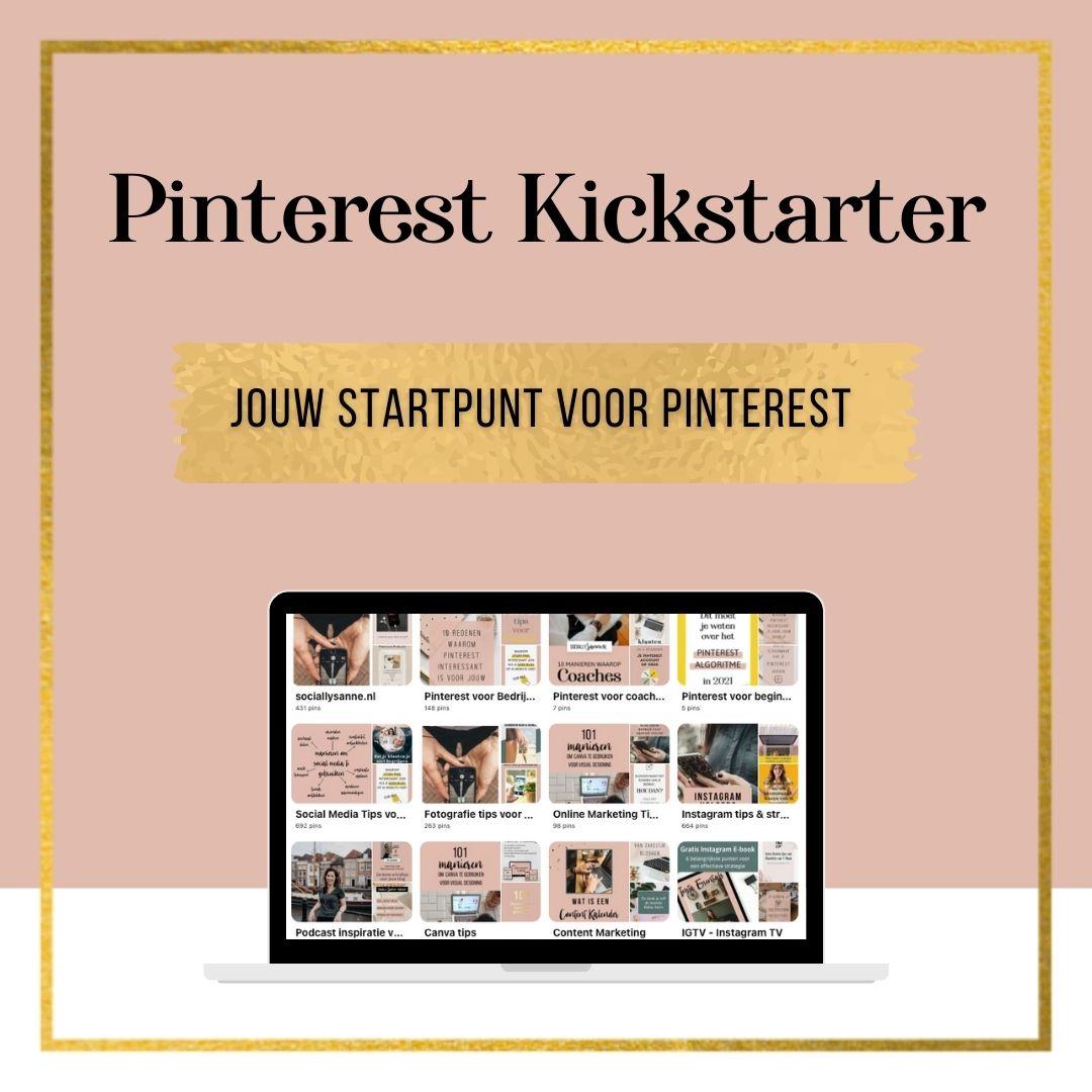 medium Pinterest Kickstarter Product afbeelding