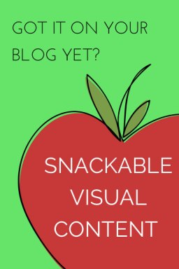 How to Create Snackable Visual Content on Your Blog