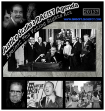 Justice Scalia's Racist Agenda