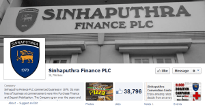 Sinhaputhra Finance Facebook