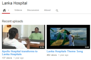 Lanka Hospital YouTube