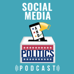 Social Media and Politics Podcast logo plus podcast