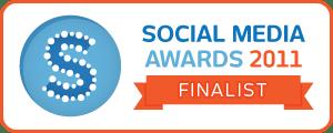 Social Media Awards - Finalist badge