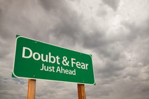 Doubt and Fear Ahead - Shutterstock - Andy Dean Photography