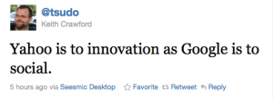 Yahoo! cannot innovate