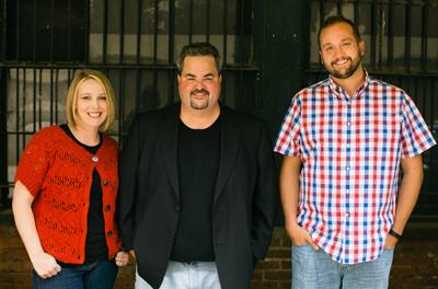 Nichole Kelly, Jason Falls and Aaron Marshall