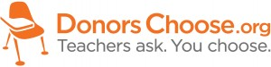 Donors Choose Logo - DonorsChoose.org featured on Social Media Explorer's #GivingTuesday