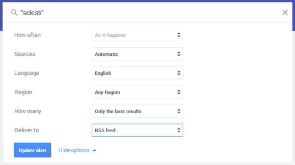 GoogleAlertFeed