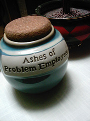 Employee Ashes