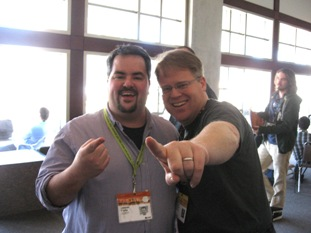 Jason Falls and Robert Scoble