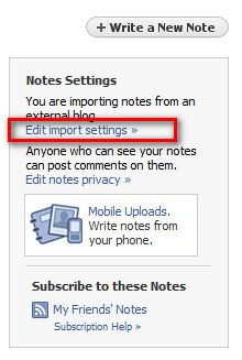 This tab will be on the upper right of your NOTES section