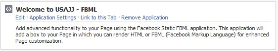 FBML application for facebok fan pages