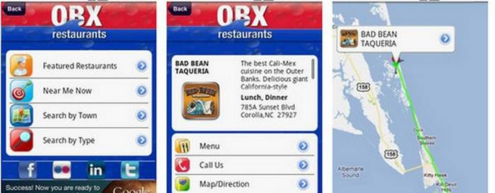 Outer Banks Restaurant Guide's Mobile App Is A Game-Changer