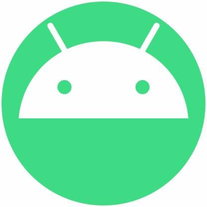 Android circle social media icons