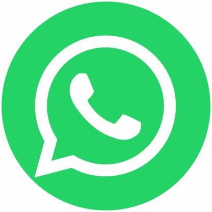 Whatsapp circle social media icons