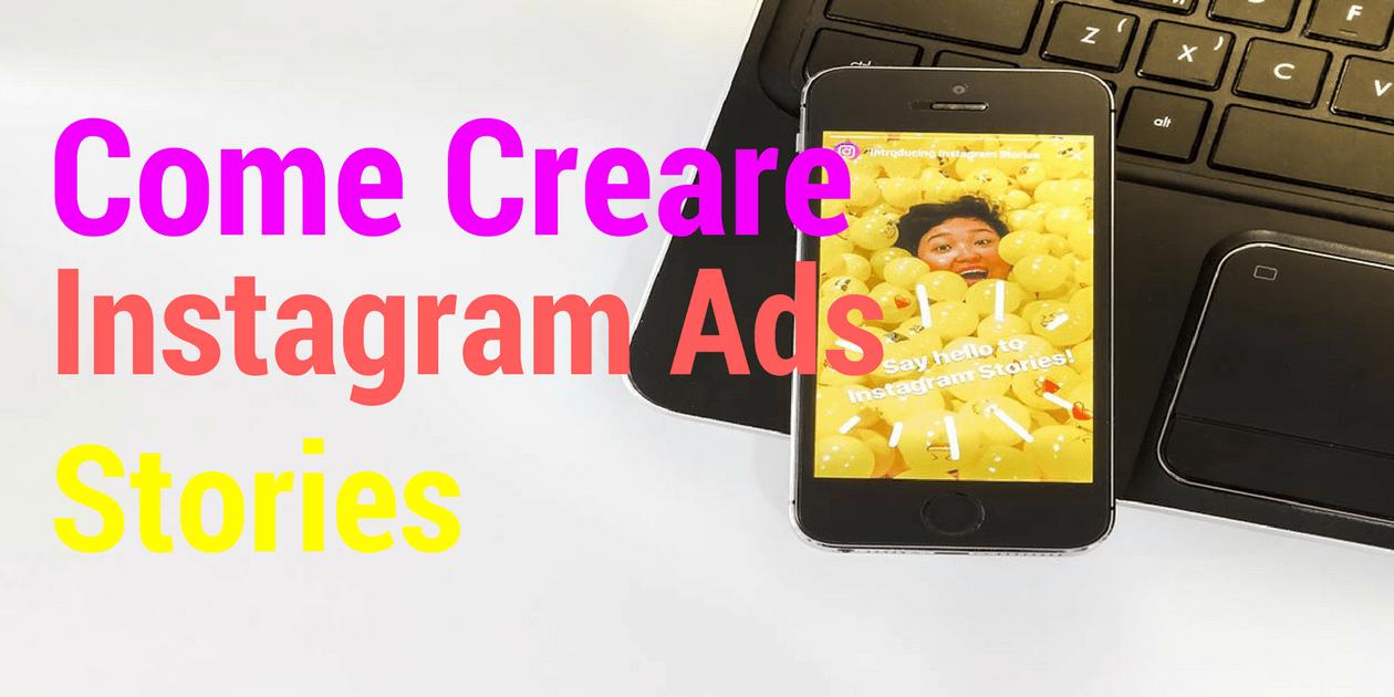 creare annunci su instagram