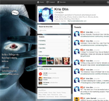 Twitter Custom Background