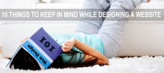 10 Things To Keep In Mind While Designing A Website