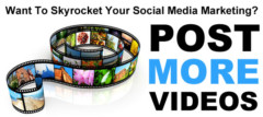 Want To Skyrocket Your Social Media Marketing? Post More Videos.